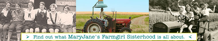 Find out about MaryJane's Farmgirl Sisterhood